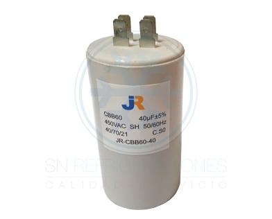 Capacitor de Marcha Plastico 40 uf - JR