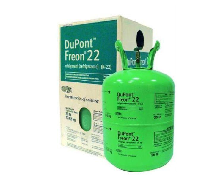 Garrafa de Gas R22 Dupont Refrigerante 13,6KG