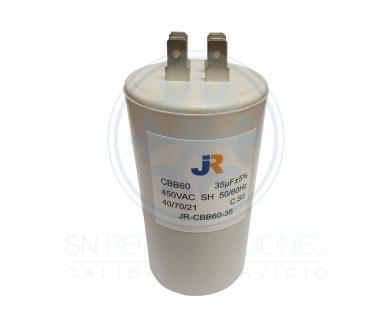 Capacitor de Marcha Plastico 35 uf - JR
