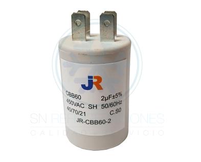 Capacitor de Marcha Plastico 2 uf - JR