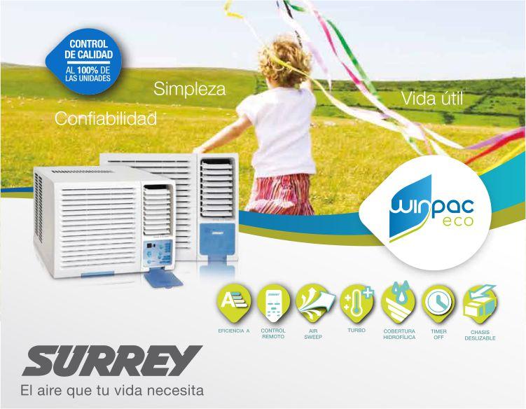 Aire acondicionado Winpac eco de 3.000 fg Frio Calor