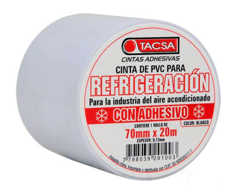 Cinta Resfrigeracion 70x20x0.1mm Tacsa Con Adhesivo