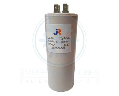 Capacitor de Marcha Plastico 70 uf - JR
