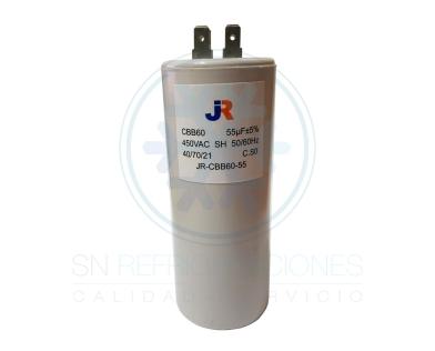 Capacitor de Marcha Plastico 55 uf - JR