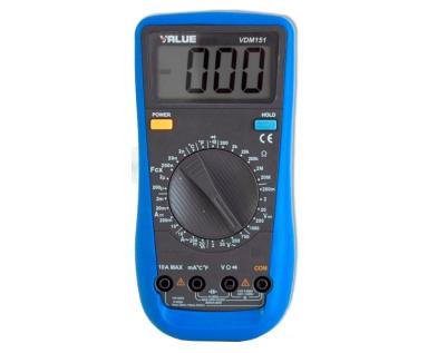 Tester Digital VALUE VDM151